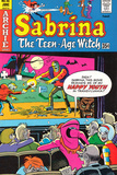 Archie Comics Retro: Sabrina The Teenage Witch Comic Book Cover 46 (Aged)