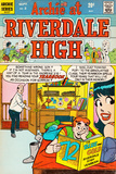 Archie Comics Retro: Riverdale High Comic Book Cover No2 (Aged)