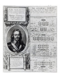 Portrait of King Charles I with Diagrams Showing the Formation of His Troops During  Bishops' War