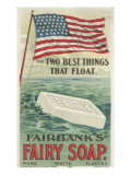 The Two Best Things That Float'  Advertisement for Fairbank's Floating Fairy Soap  1898