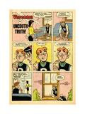 Archie Comics Retro: Veronica Comic Strip; Uncouth Truth (Aged)