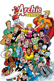 Archie Comics Cover: Archie & Friends No138 A Night At The Comic Shop