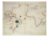 The New World  from an Atlas of the World in 33 Maps  Venice  1st September 1553