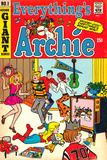 Archie Comics Retro: Everything's Archie Comic Book Cover No1 (Aged)