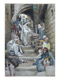 In the Villages the Sick Were Brought Unto Him  Illustration for 'The Life of Christ'  C1886-94