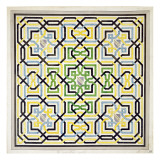 Mosaic Design from the Alhambra  from 'The Arabian Antiquities of Spain'  Published 1815