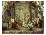 Emperor Frederick Barbarossa's Wedding to Beatrix of Burgundy in 1156  C1751-52