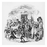 The Internal Economy of Dotheboys Hall  Illustration from `Nicholas Nickleby' by Charles Dickens