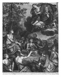 Frontispiece to 'Oeuvres' by Nicolas Boileau  known as Boileau-Despreaux  Triumph of Boileau