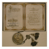 Prince Diploma for the Chancellor of the North German Confederation and the Minister-President
