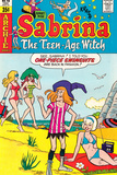 Archie Comics Retro: Sabrina The Teenage Witch Comic Book Cover No48 (Aged)