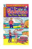 Archie Comics Retro: Sabrina The Teenage Witch Comic Book Cover 70 (Aged)