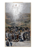 The Ascension from the Mount of Olives  Illustration for 'The Life of Christ'  C1884-96