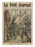 The Death of Chulalongkorn  King of Siam  Illustration from 'Le Petit Journal'  6th November 1910