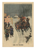 Christmas in Poland  Illustration from 'Le Petit Journal'  Supplement Illustre  24th December 1911