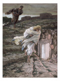 St Peter and St John Run to the Tomb  Illustration for &#39;The Life of Christ&#39;  C1886-94