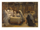 The Communion of the Apostles  Illustration for 'The Life of Christ'  C1884-96
