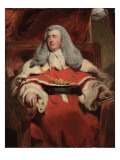 Portrait of Edward Law  1st Baron Ellenborough  MP