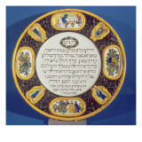 Fayeme Passover Dish  Made by Isaac Cohen of Pesaro  Probably Italian  C1613-14