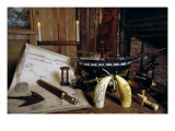 Objects from a Nineteenth Century Captain's Desk