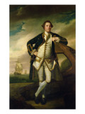 Capt Philemon Pownall in Naval Uniform  1762-65
