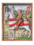 Ms 17 F76 Joan of Arc from &#39;Vie Des Femmes Celebres&#39;  C1505