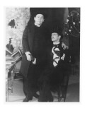 Charles Laughton as Canon Chasuble and Roger Livesey as John Worthing