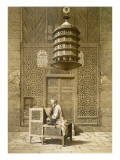 An Imam Reading the Koran in the Mosque of the Sultan  Morocco  1817