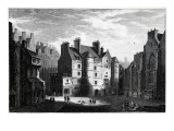 Old Tolbooth Edinburgh  Engraved by Edward Finden
