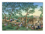 Outing to the Antipolo Fiesta  from 'The Febus Album of Views in and around Manila'  C1845