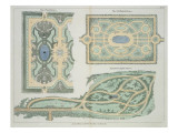 Designs for French  Old English and Modern English Parterres
