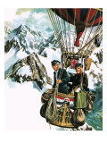 Gerry Turnbull and Tom Sage Fly a Balloon at 10 000 Feet across the Alps