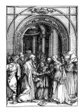 The Betrothal of the Virgin  from the Life of the Virgin  C1504