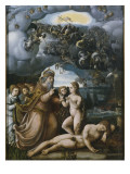 Triptych of the Creation  Creation of Eve  Central Panel