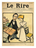 The Day before the Wedding  Cartoon from the Cover of 'Le Rire'  26th August 1899