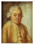 Portrait of Carl Philipp Emanuel Bach  C1780