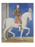 Equestrian Portrait Presumed to Be Dauphin Henri Ii