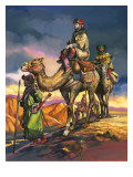 Marco Polo Crosses the Persian Deserts  from &#39;The Travels of Marco Polo&#39;  1964
