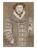 Henry Viii  Illustration from 'Cassell's Illustrated History of England'