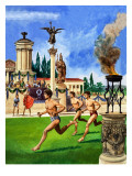 The First Olympic Games  from &#39;The History If Our Wonderful World&#39;  1967