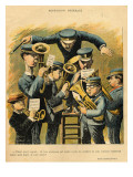 Band Rehearsal  from the Back Cover of 'Le Rire'  16th April 1898