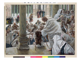 The Healing of the Lame in the Temple  Illustration for 'The Life of Christ'  C1886-94