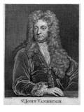 Sir John Vanbrugh  Engraved by Thomas Chambars