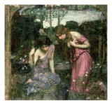 Study for 'Nymphs Finding the Head of Orpheus'  C1900