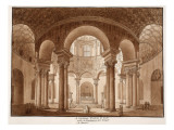 Santa Costanza the Family Tomb of Constantine  Called the Temple of Bacchus  1833