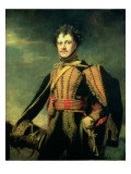 Lt Col Sir John James Fraser in Hussar Uniform