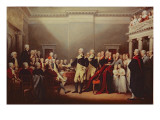 The Resignation of George Washington on 23rd December 1783  C1822