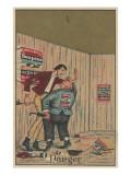Danger'  Advertisement for Kendal Mfg Co 'soapine'  C1880