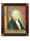 An Important Tavern Sign Depicting Thomas Jefferson and James Madison