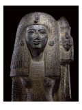 Standard Bearing Statue of Queen Nefertari  New Kingdom  C1290-1224 Bc